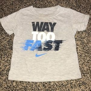 Nike Way Too Fast short sleeve top